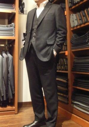 2009年の新作スーツが完成しました!