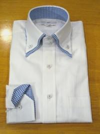 シャツ クールビズ 二枚衿