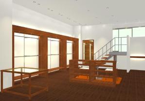新しいZERBINO新宿の完成予想図です。