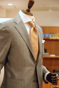 Business grey jacket