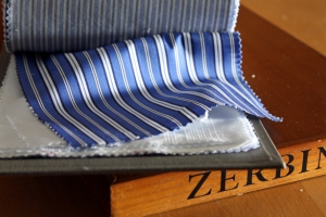 blue stripe cloth