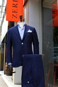 麻スーツ3P T