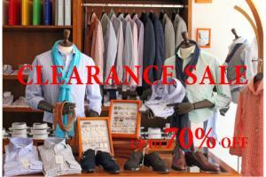 201407 CLEARANCE SALE