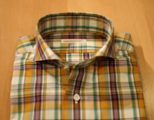 オーダーチェックシャツ2