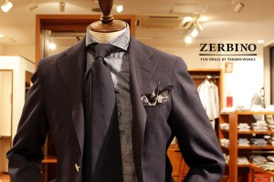 zerbino toranomon sample suit