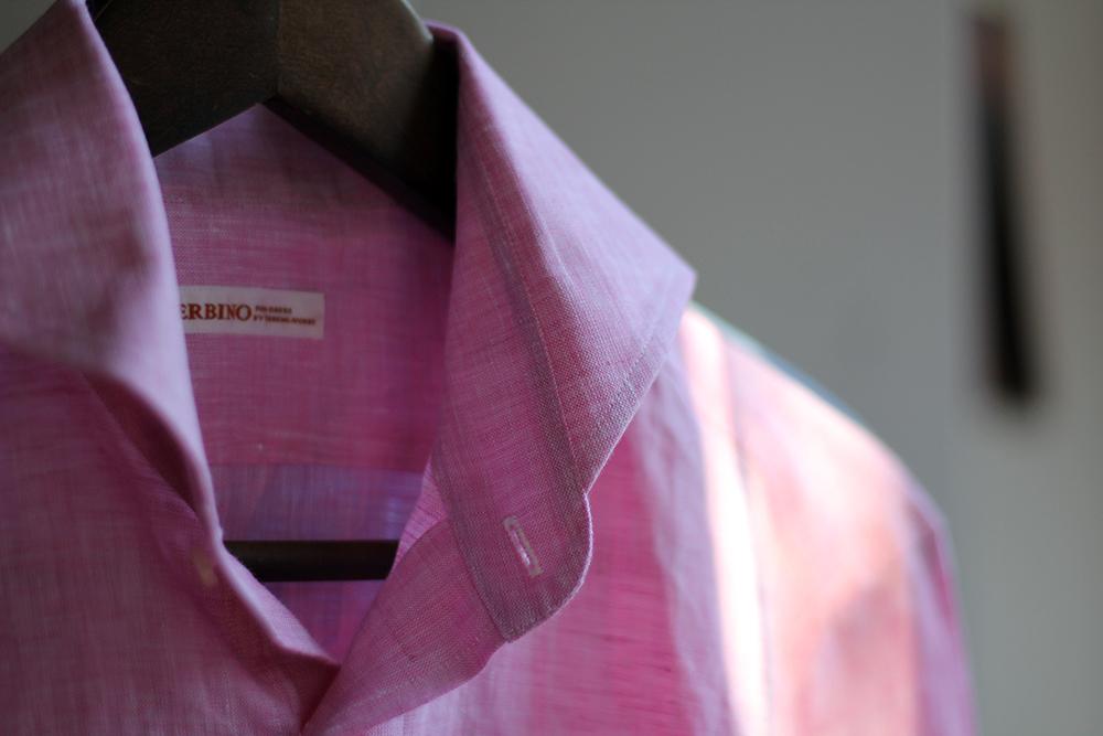 order linen shirt up