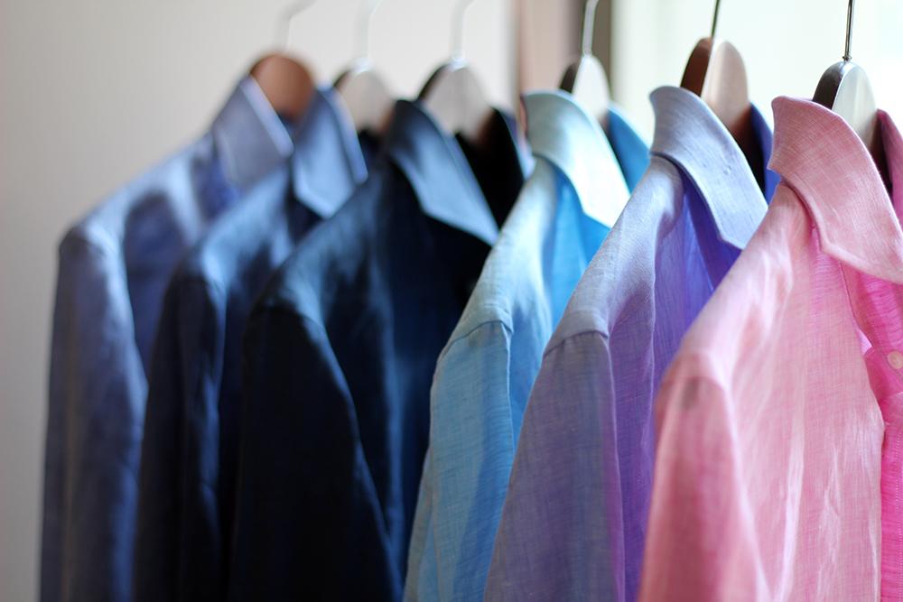 order linen shirt