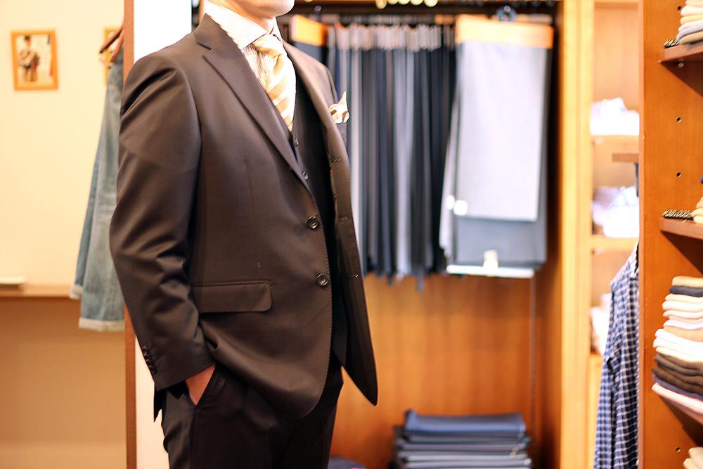 mr t brown suit up
