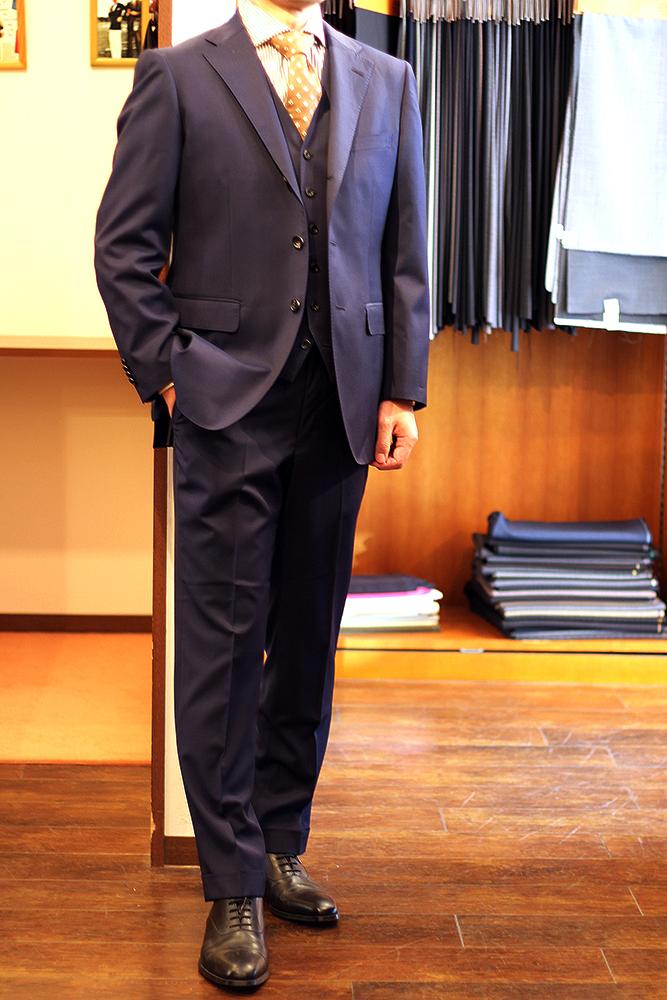 mr t Navy suit up