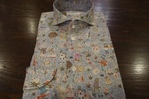 Liberty、プリントシャツ、柄シャツ、アリス