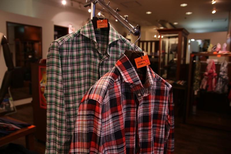 麻シャツ、柄シャツ、チェックシャツ、カジュアルシャツ、ZERBINO、Order Shirt、オーダーシャツ