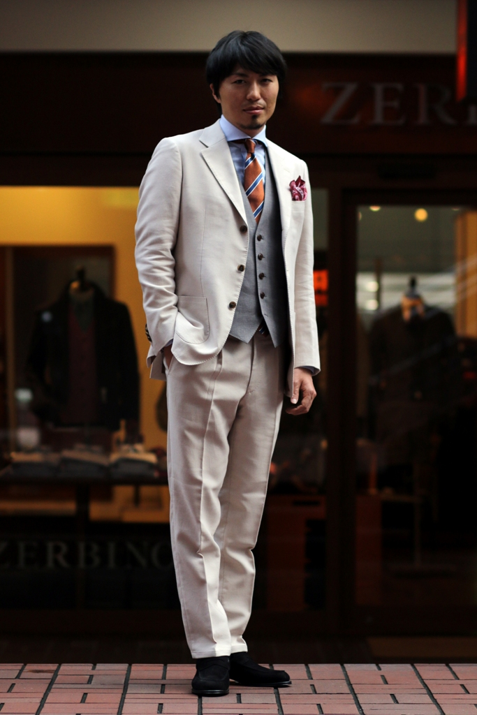 CARLO BARBERA , Weeding Suit , Order Vest , Order Shoes , ZERBINO , 結婚式スーツ