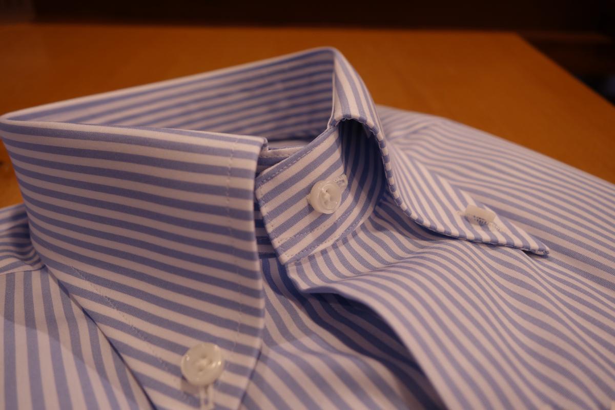 ボタンダウン、ニューイングランドボタンダウン、トラッド、ZERBINO、オーダーシャツ、Order Shirts