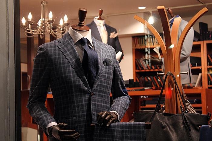 20160307 wool&silk&linen suit 1