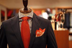 linen chief & knit tie