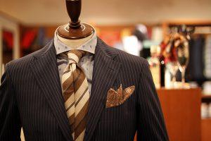 linen chief & wool tie