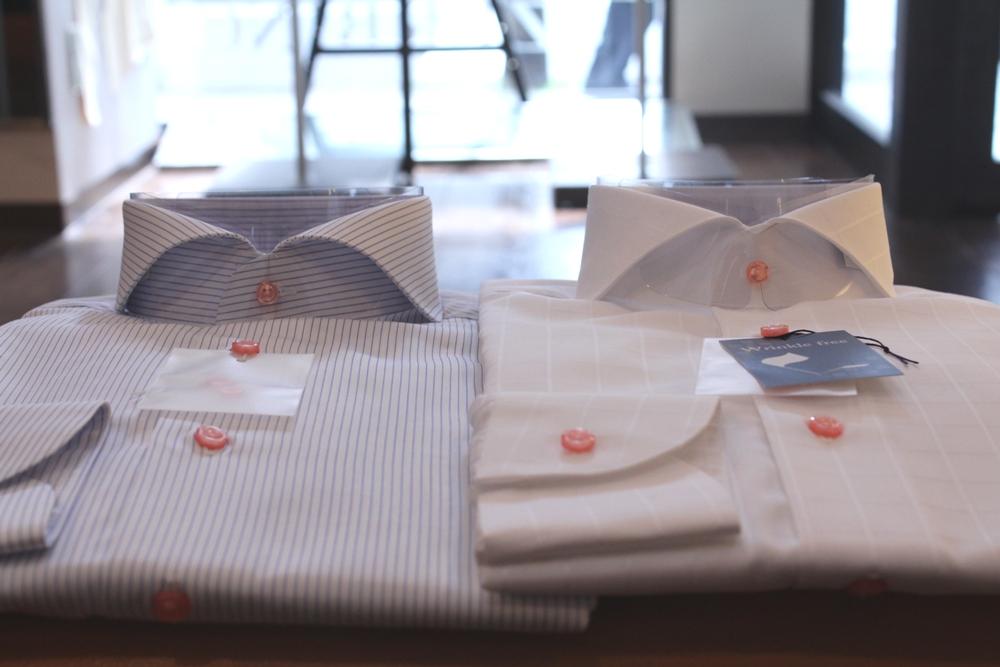 ホリゾンタル カッタウェイ 衿型 オススメ オーダーシャツ