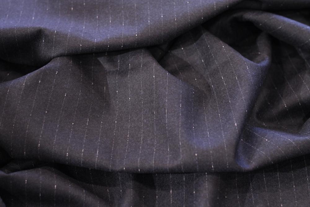 カノニコ CANONICO イタリア 生地 ブランド Fabric オーダー スーツ スリーピース ネップストライプ