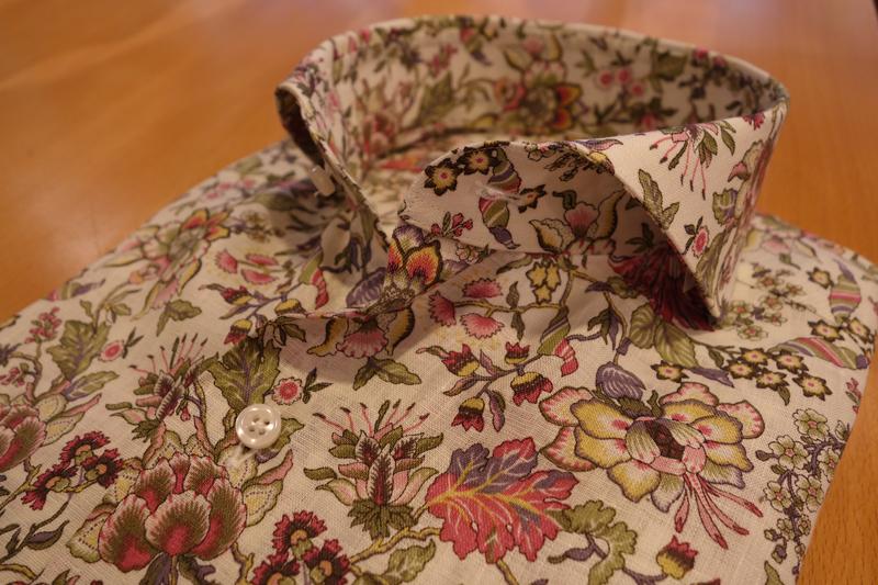 Liberty,Print,Order Shirt,ZERBINO,リバティ,プリントシャツ,柄シャツ,オーダーシャツ