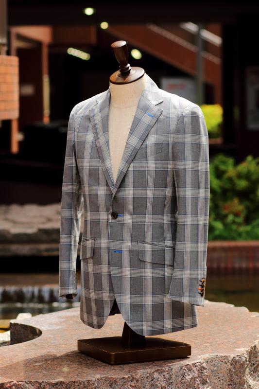 トレーニョ グレンチェックオーダースーツ