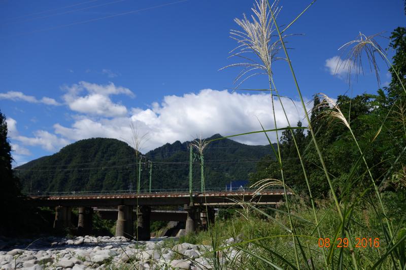 新潟県 渓谷 越後湯沢