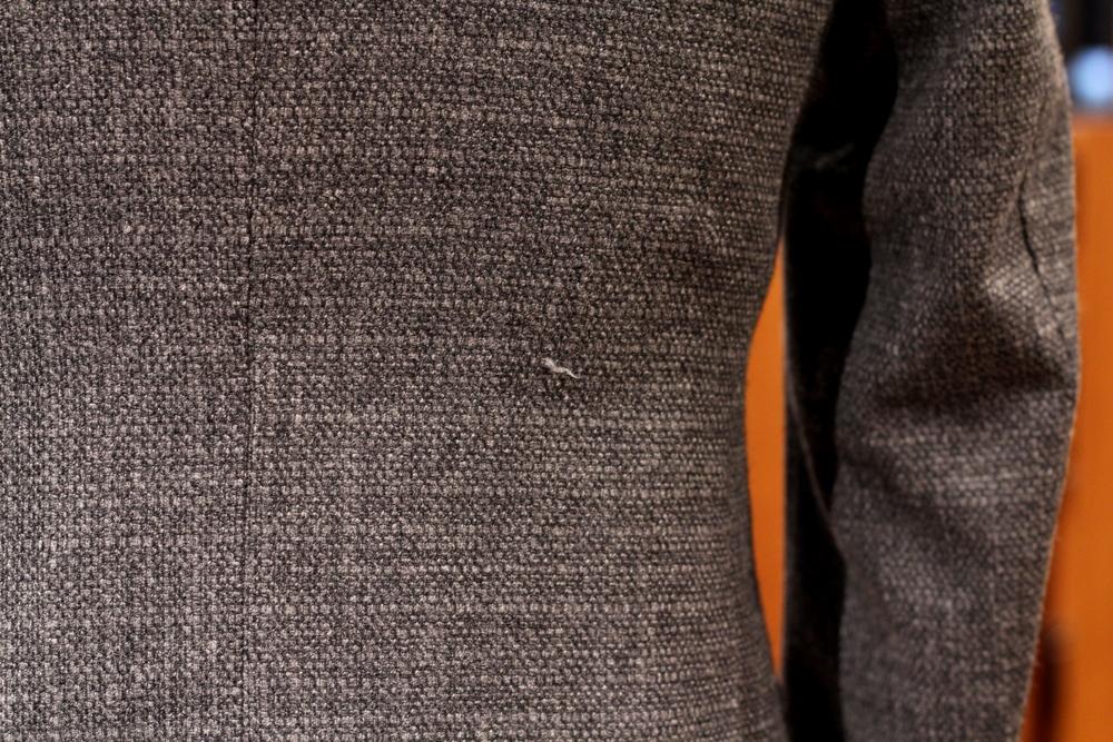 ドミンクス DOMINX オーダー スーツ Jacket ジャケット グレー ライトグレー オーダージャケット