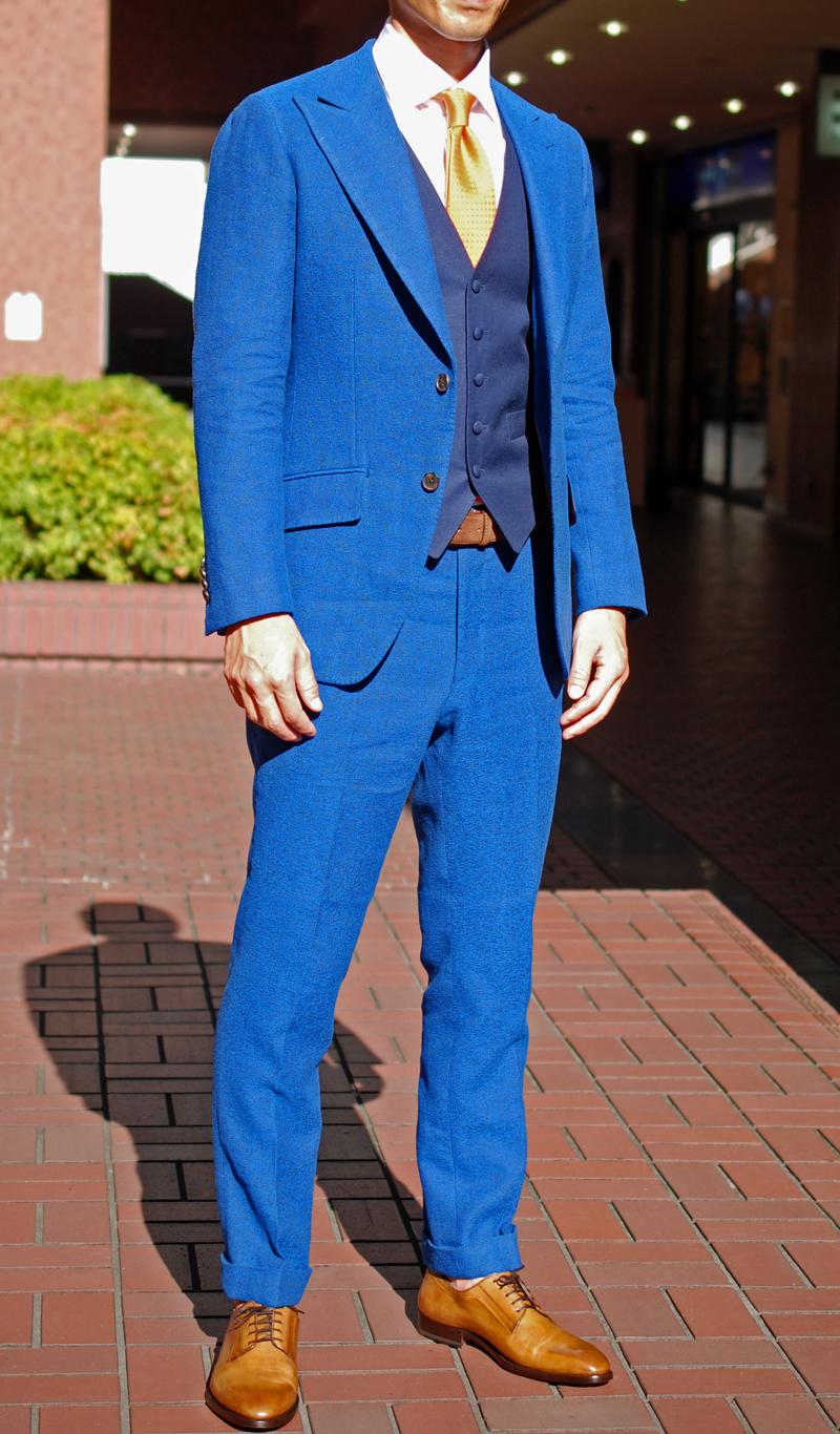 スキャバル SCABAL 結婚式 ブライダルスーツ ZERBINO ゼルビーノ オーダースーツ オーダーシャツ オーダージャケット