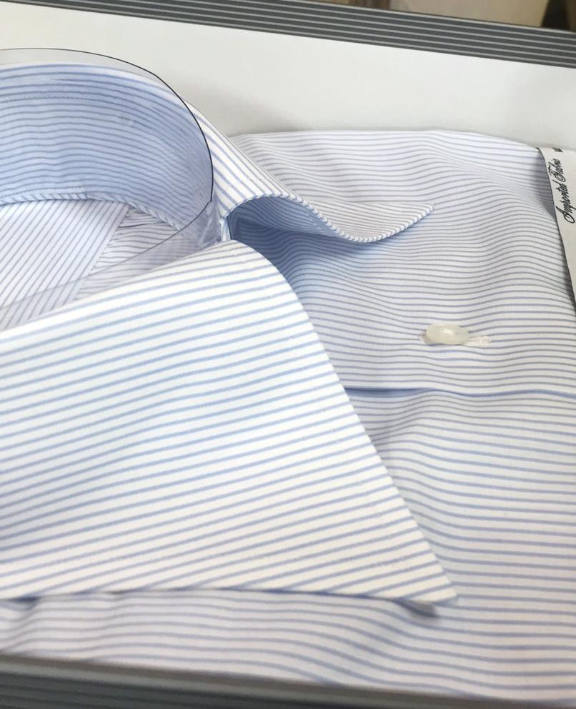 オーダー ワイシャツ ZERBINO ゼルビーノ スーツ 秋冬 襟 襟型 レギュラー クラシック ネクタイ