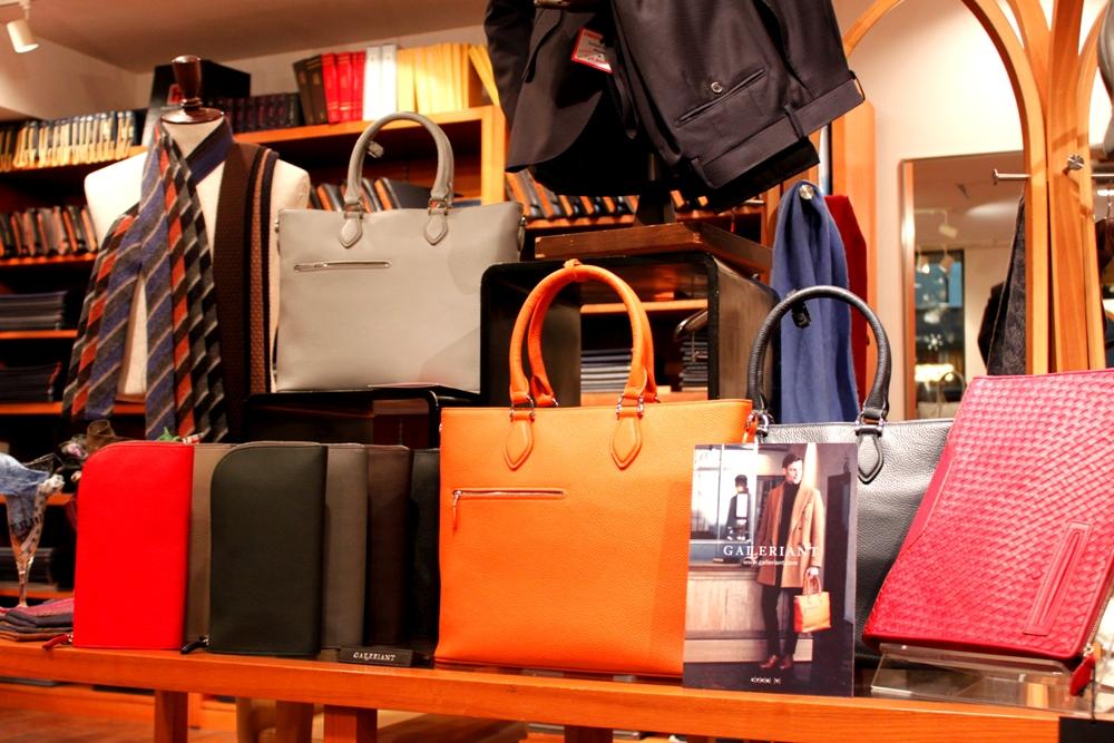 ガレリアント,GALLERINT,取扱店,虎ノ門,オーダースーツ,ZERBINO,ゼルビーノ,オーダーシャツ,オーダーシューズ,バッグ,ビジネス,普段使い,