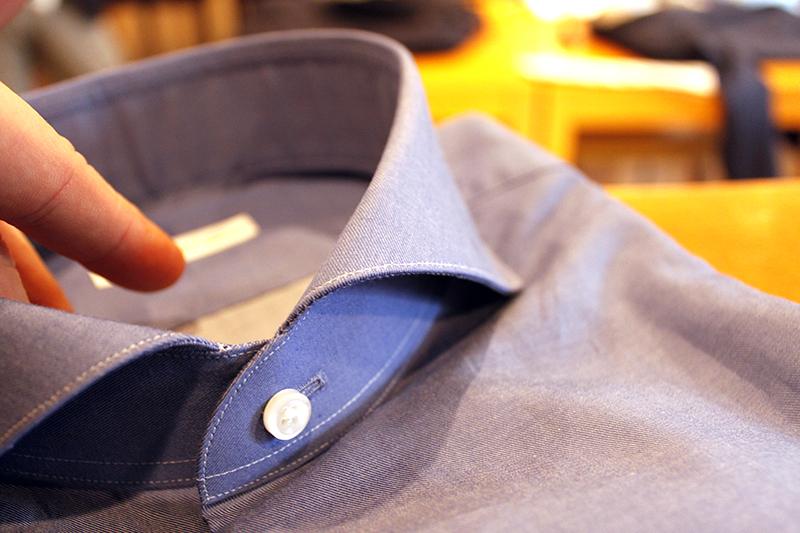 コバステッチインディゴシャツ2