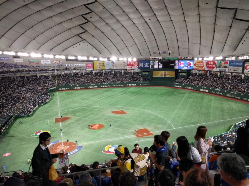 WBC 東京ドーム 2017年3月7日 日本×キューバ