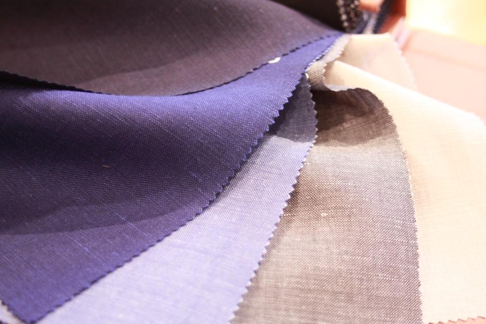 カノニコ麻混スーツ