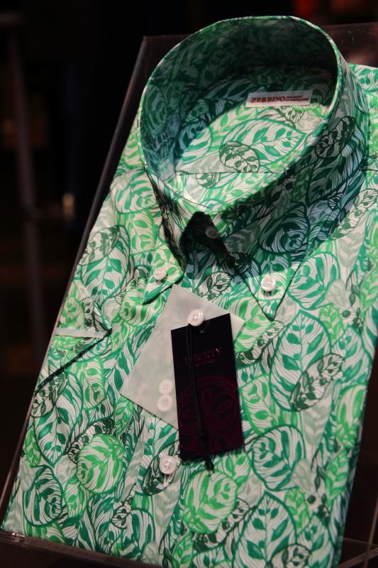 リバティプリントシャツ FM78115 オーダーシャツZERBINO銀座店