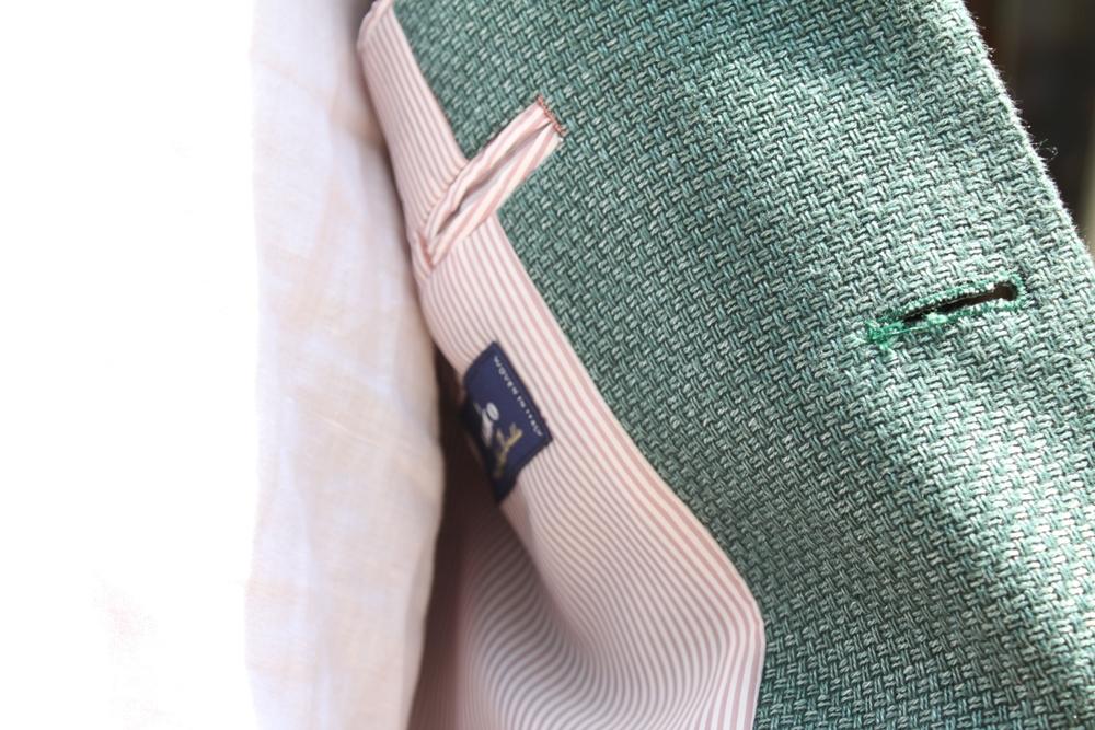 アンジェリコ麻ホップサックジャケット