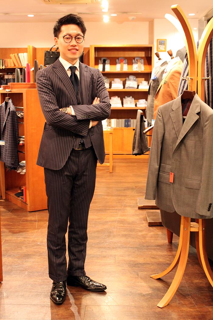 長濱スーツスタイル
