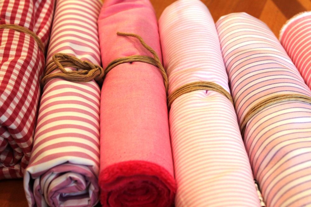 シャツフェア ピンク色