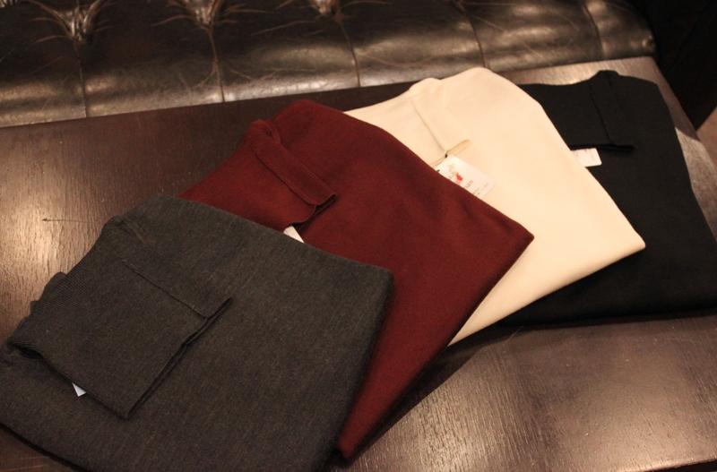 Washable セーター 4色