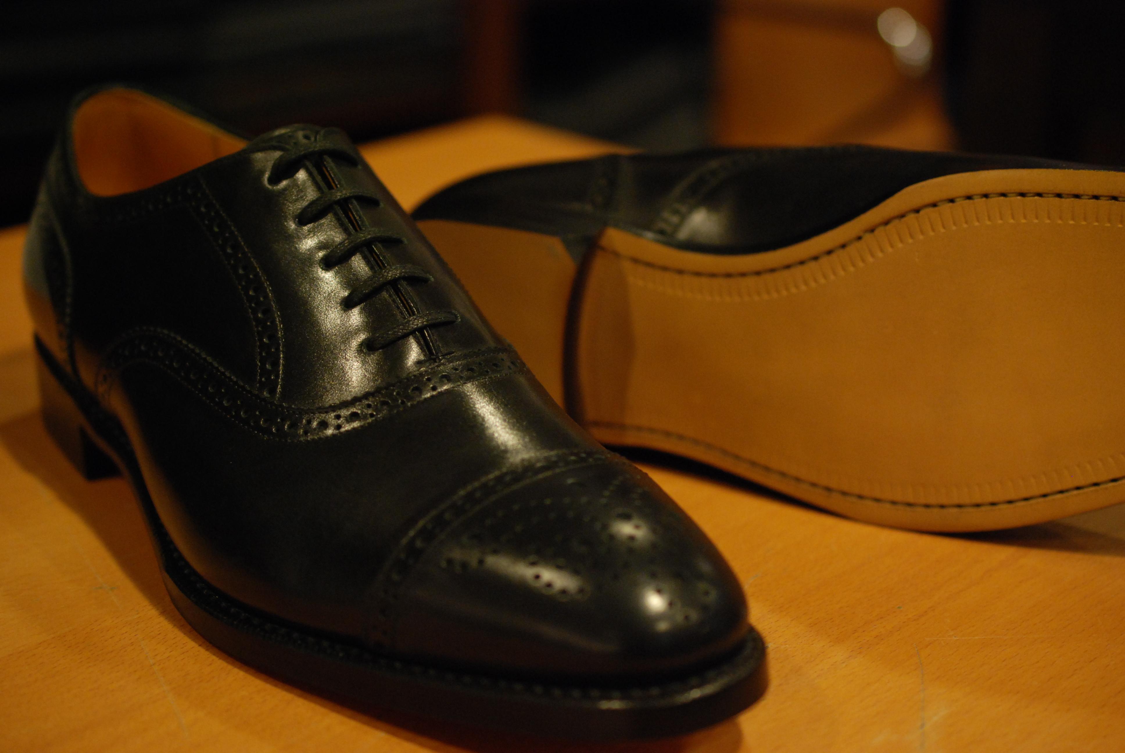 宮城興業 革靴