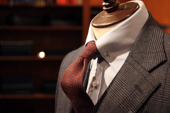 canonico glencheck suit 2