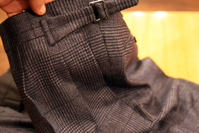 canonico glencheck suit 3