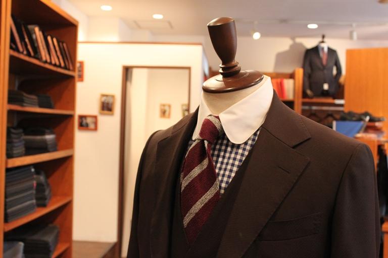 スーツ シャツ クレリック