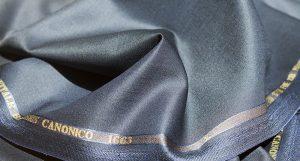 CANONICO カノニコ ネイビー 濃紺 イタリア 英国調 モヘア ダブルベスト スリーピース