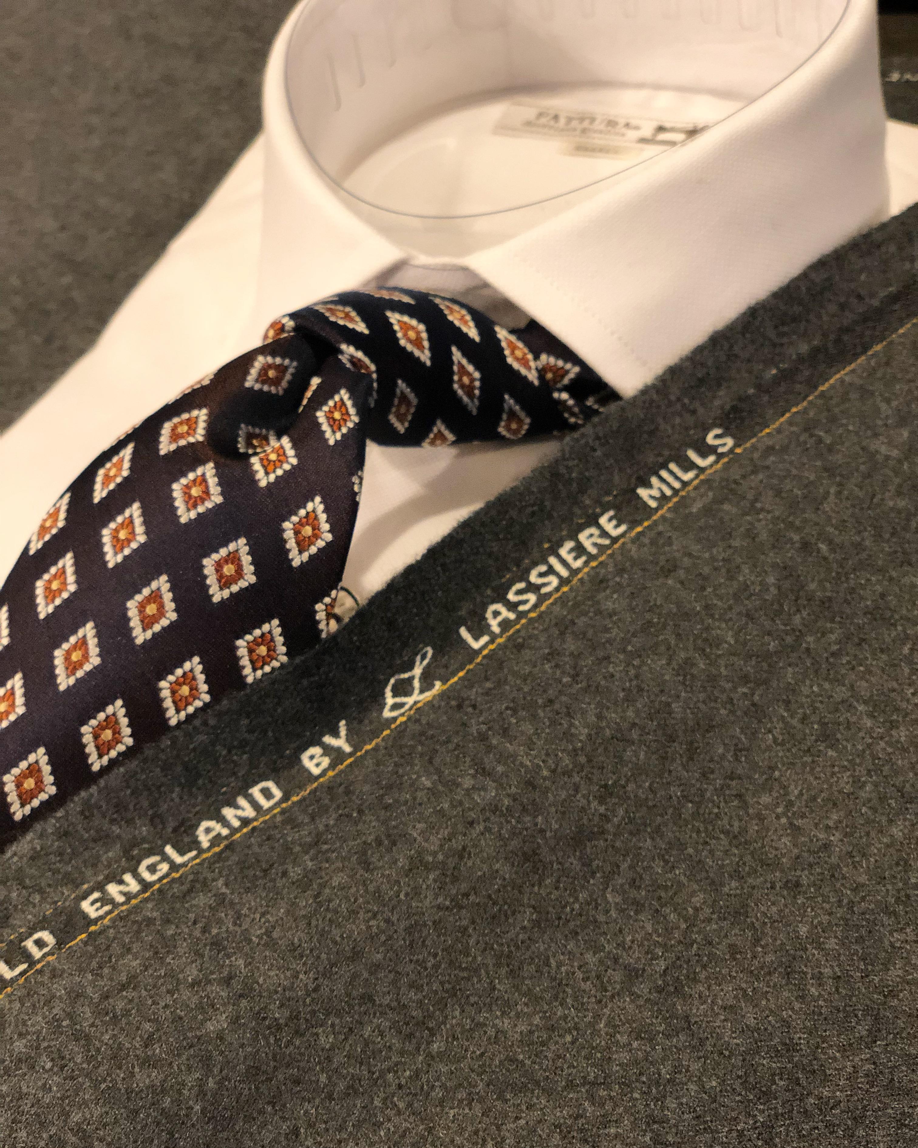 国産タイ ネクタイ スタイリング例