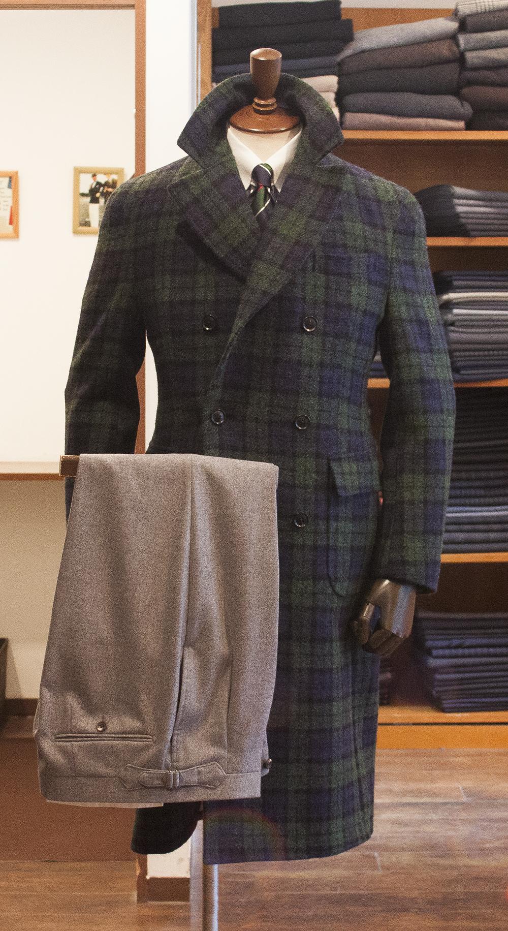 ハリスツイード ブラックウォッチ タータン クラシック 伝統 スコットランド