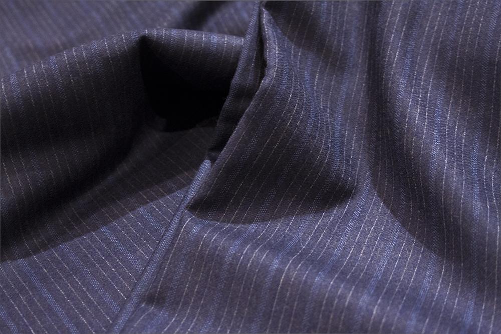 サヴィルクリフォード オルタネイトストライプ ネイビー 紺 ブルー 青 クラシック