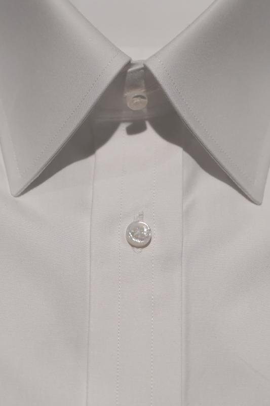 白ブロード無地 フォーマルシャツ ZERBINO銀座店