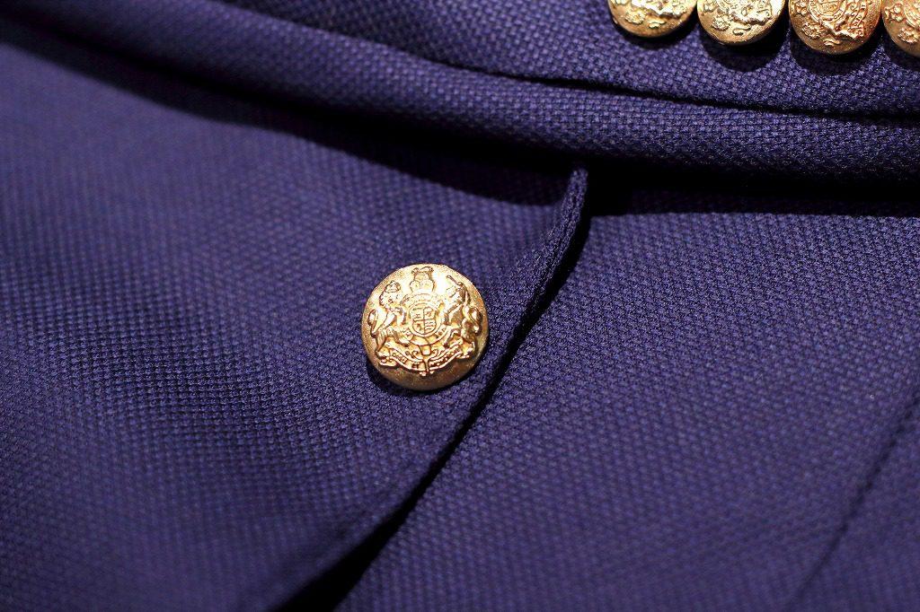 ブレザー  メタル釦 金ボタン