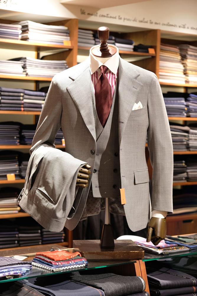 ヘリンボーン ネクタイ スタイリング
