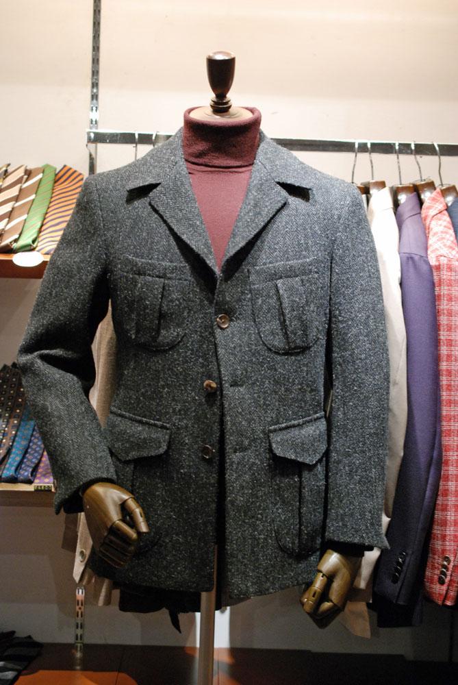 一味違うジャケットスタイル
