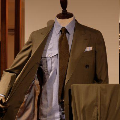 ダブルポケット スーツ